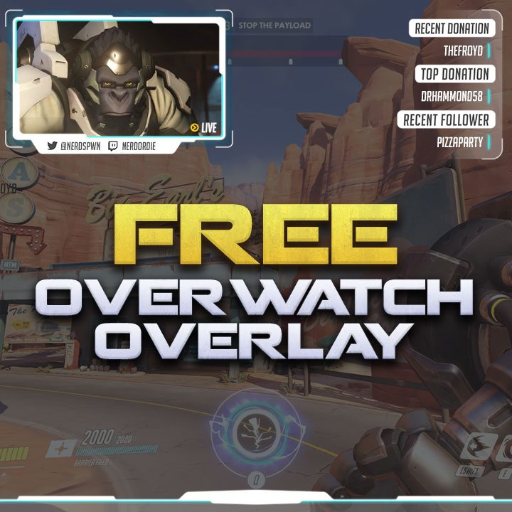 Featured Overwatch Overlay