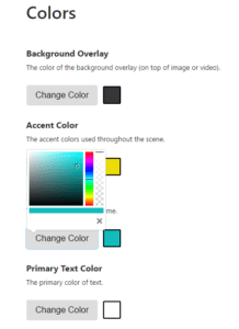 Using the Color Picker