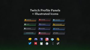 Stone Fire Panels and Icons