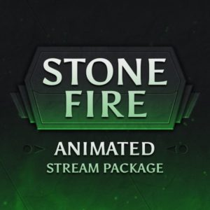 Stone Fire Animated Stream Package