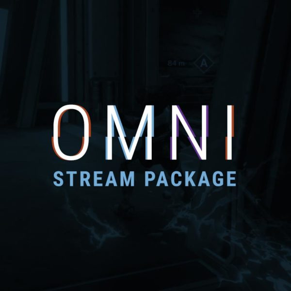OMNI Destiny Themed Stream Package - Overlay and Alerts