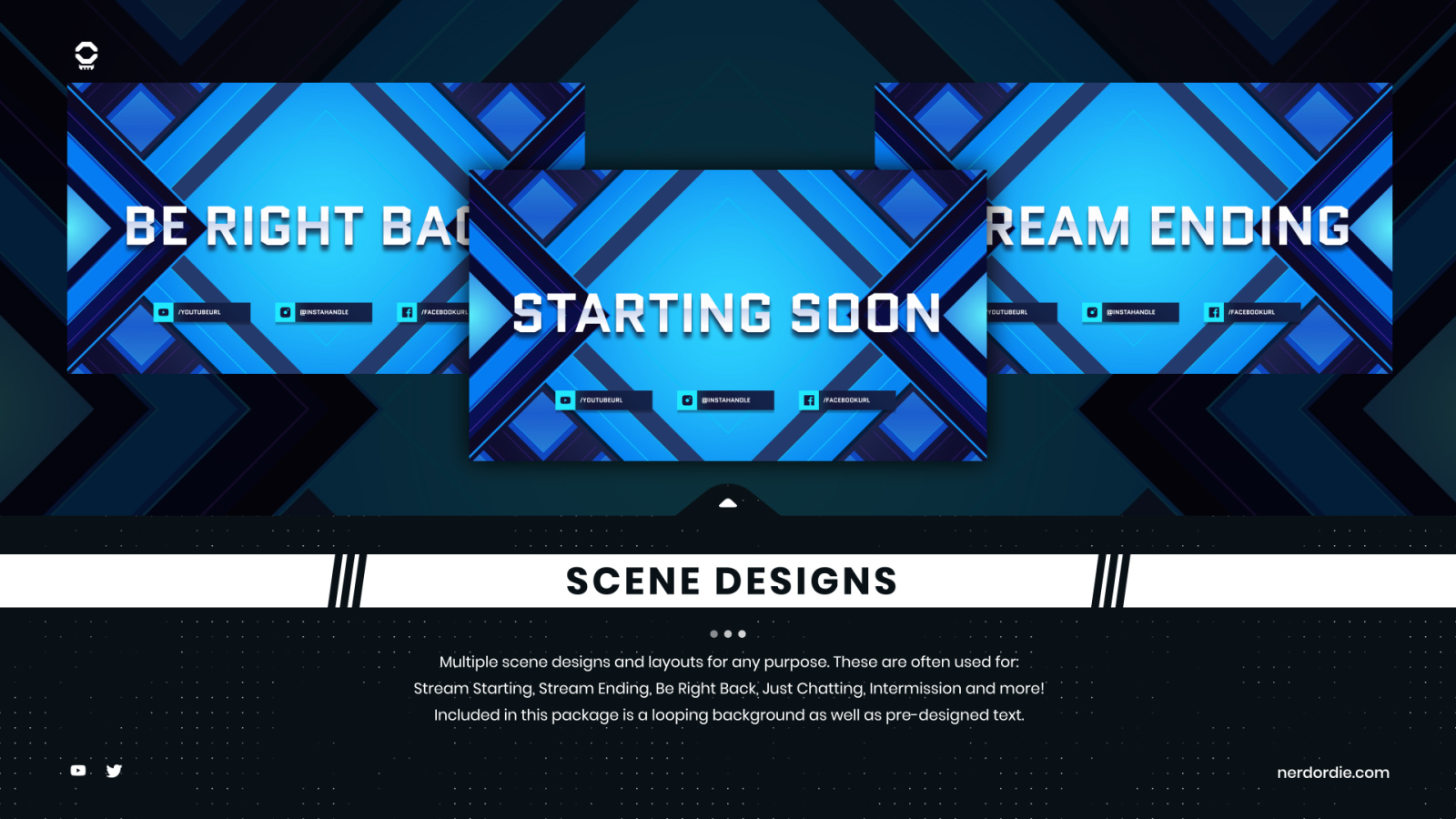 Kinetic Stream Package Screens