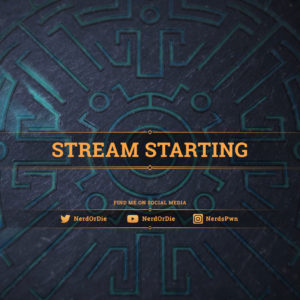 Arcana - Fantasy Themed Stream Starting scene