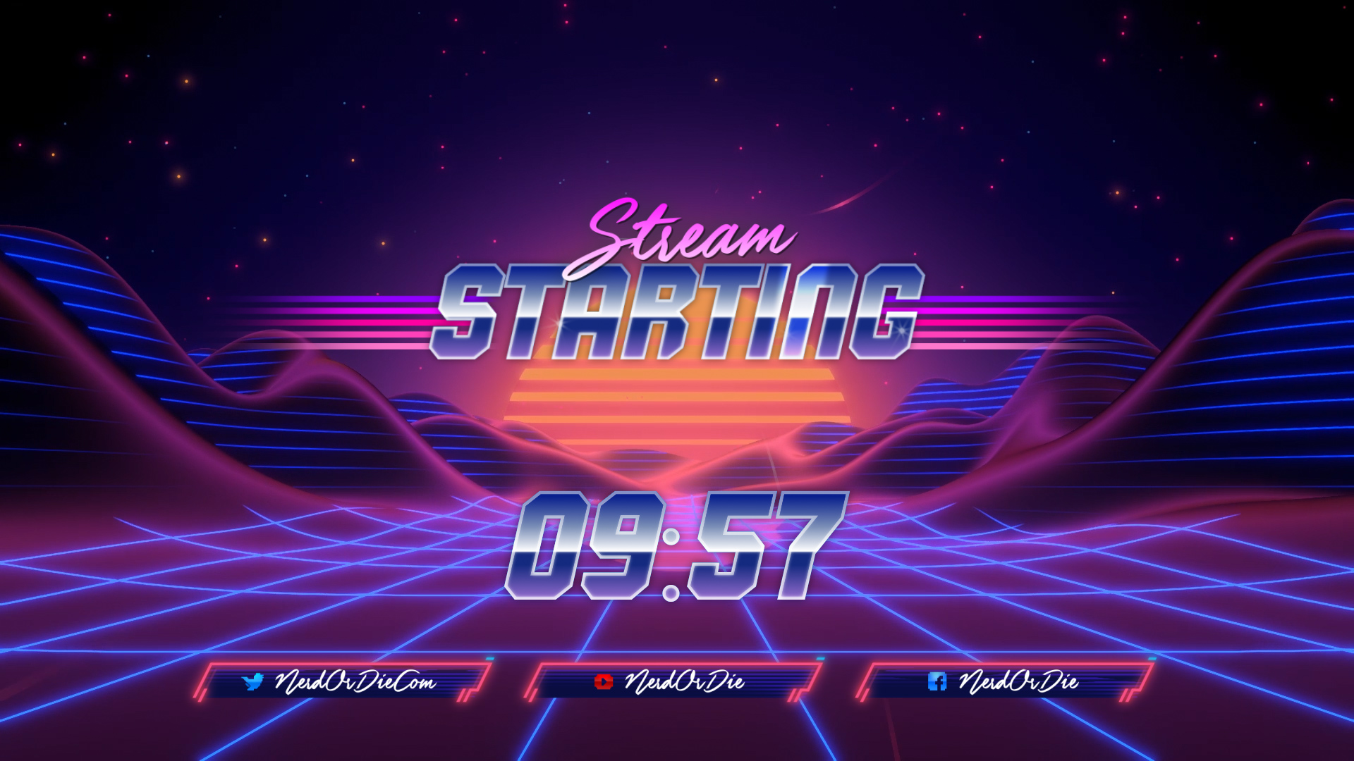 Synthwave - Stream Package